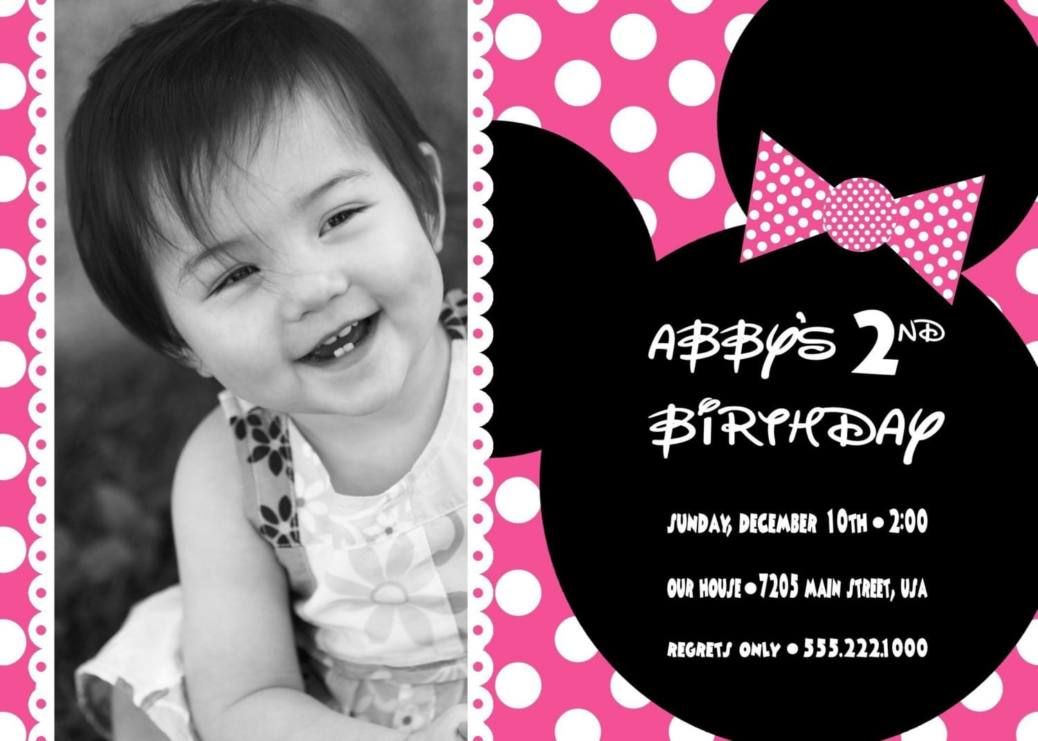 minnie mouse invitation template download download free printable minnie mouse birthday invitations