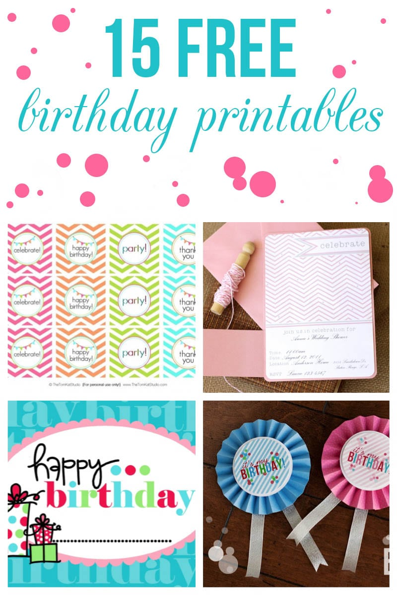 30th Birthday Invitation Template Free Printable