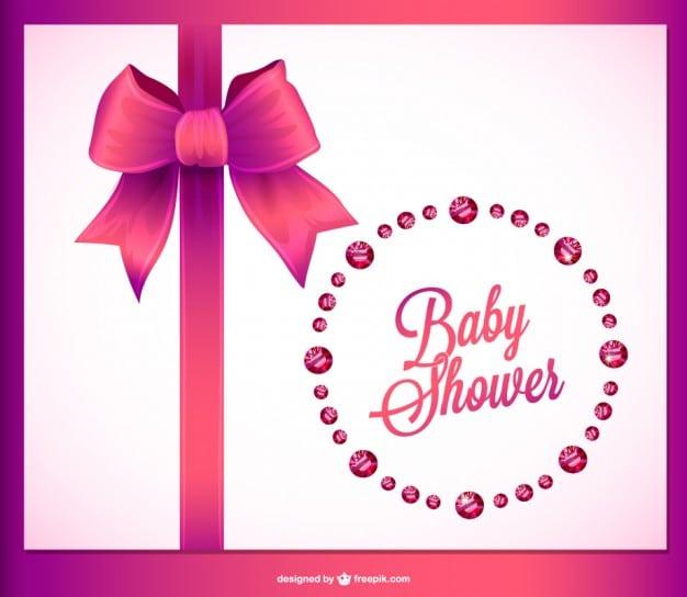 Baby Invitation Free Vector