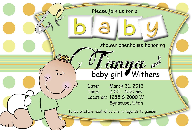 Baby Invitations Free Online