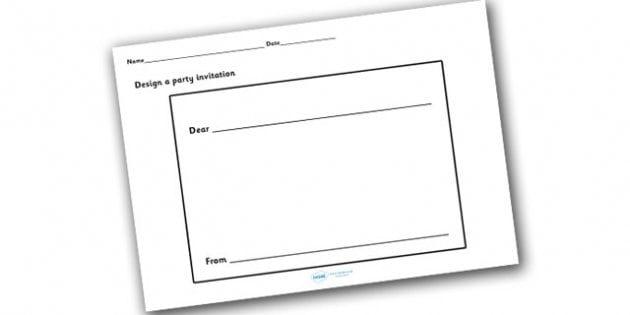 Invitation blank template stopboris Images