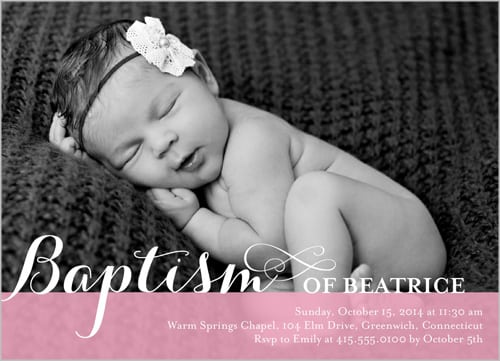 Christening Invitation Designs Free Download