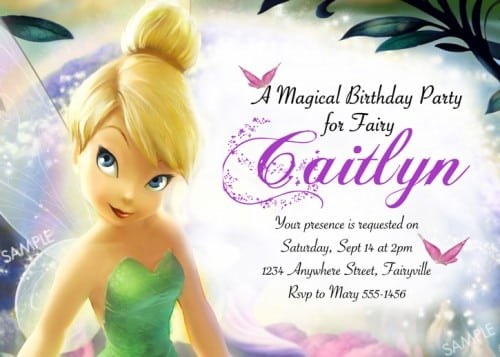Disney Princess Invitation Printables