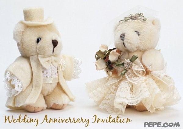 Ecards Wedding Anniversary Invitations