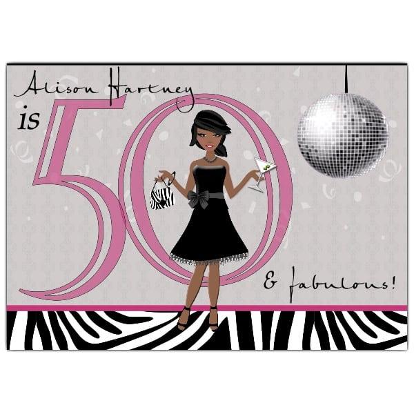 Free 50th Birthday Invitations To Print