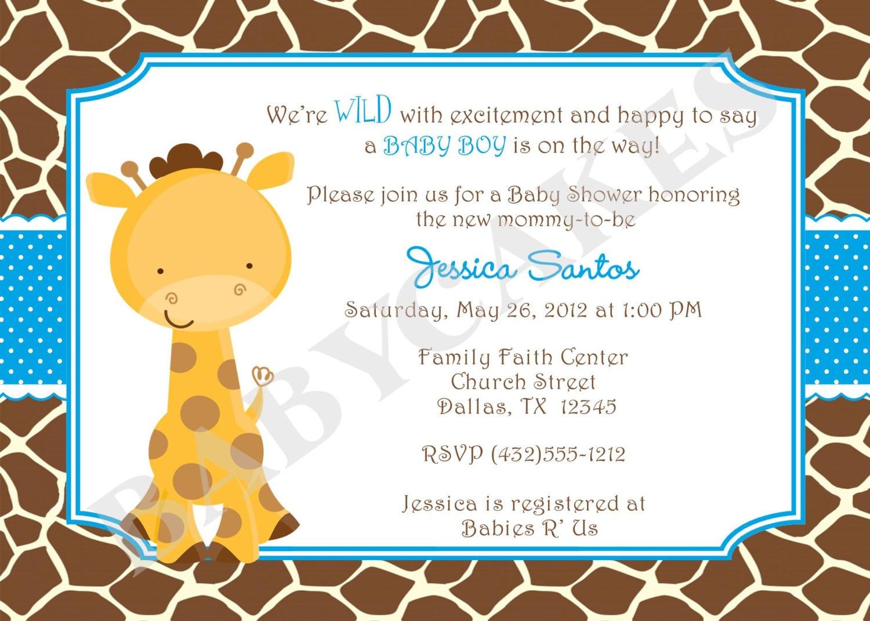 Free Baby Sprinkle Invitations