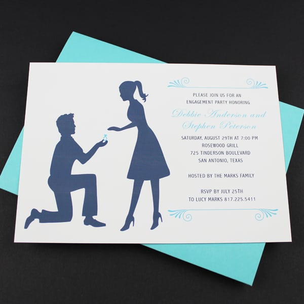 engagement free invitation