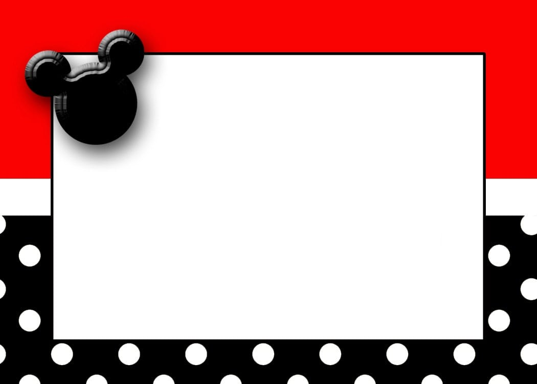 free mickey mouse invitation downloads
