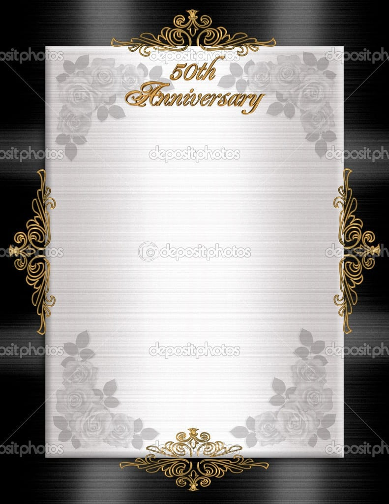 Mesmerizing image throughout free printable anniversary invitations