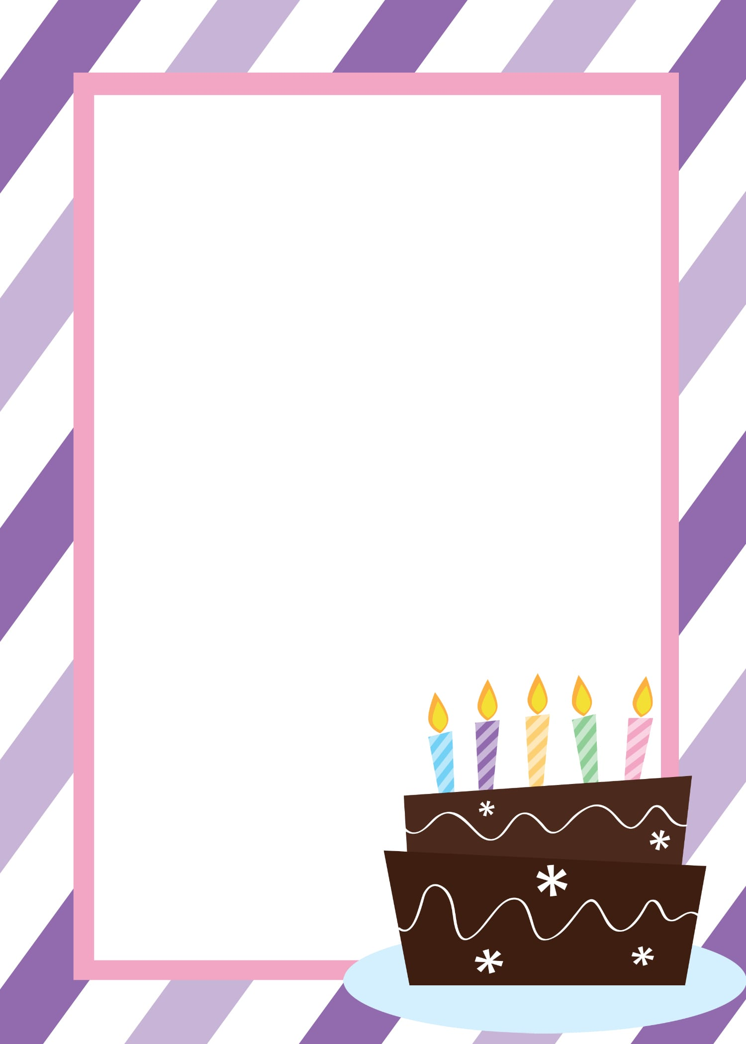 free birthday party invitation templates for word – Microsoft Word Greeting Card Template Blank
