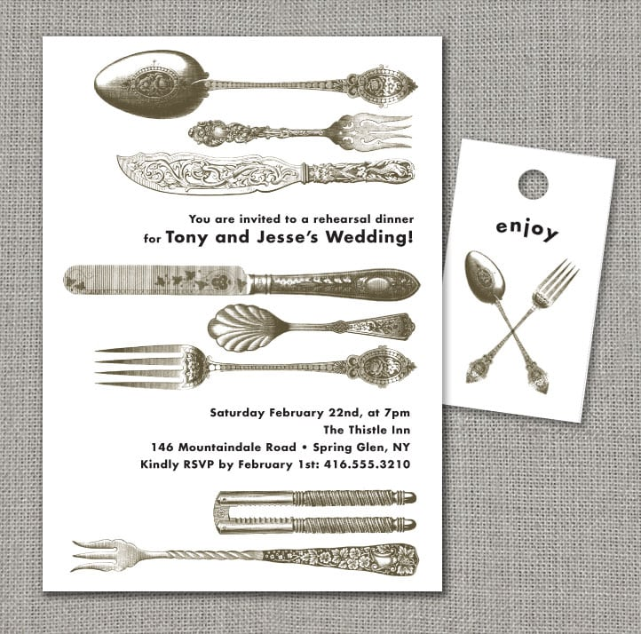 Free Printable Dinner Party Invitations