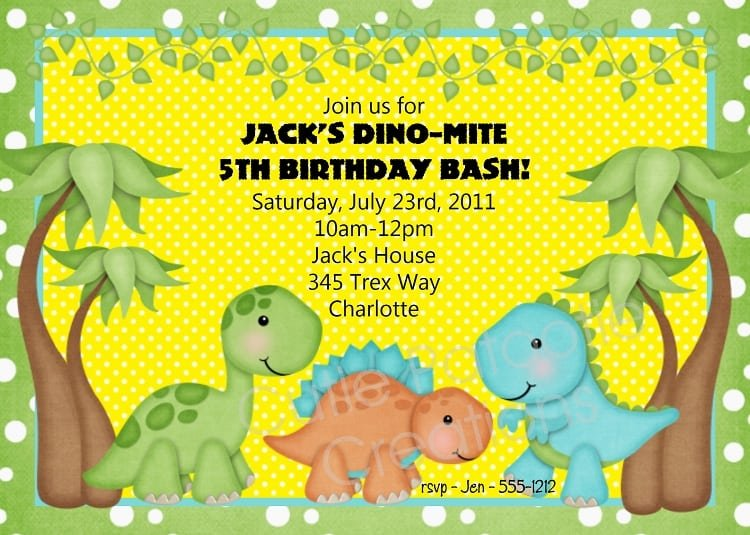 Invaluable image with regard to free printable dinosaur baby shower invitations