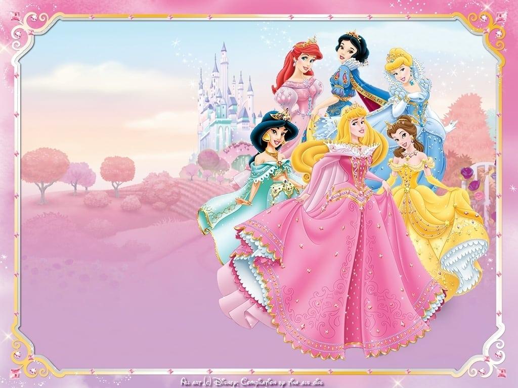 free printable princess invitation birthday