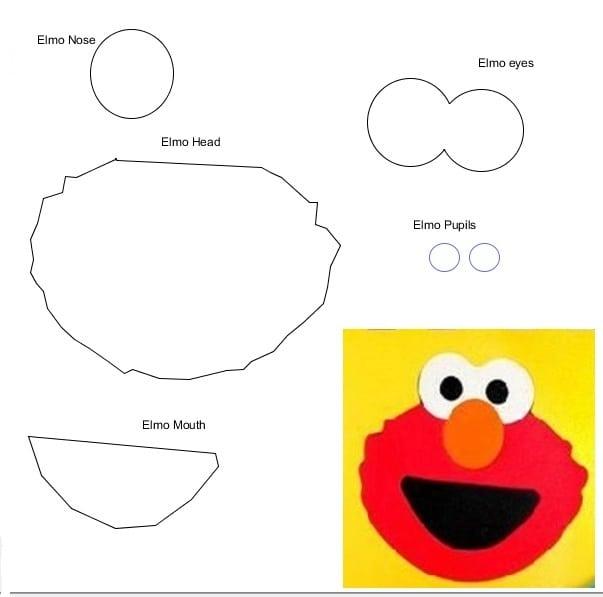 Elmo Printable Birthday Invitation – Printable Elmo Birthday Invitations