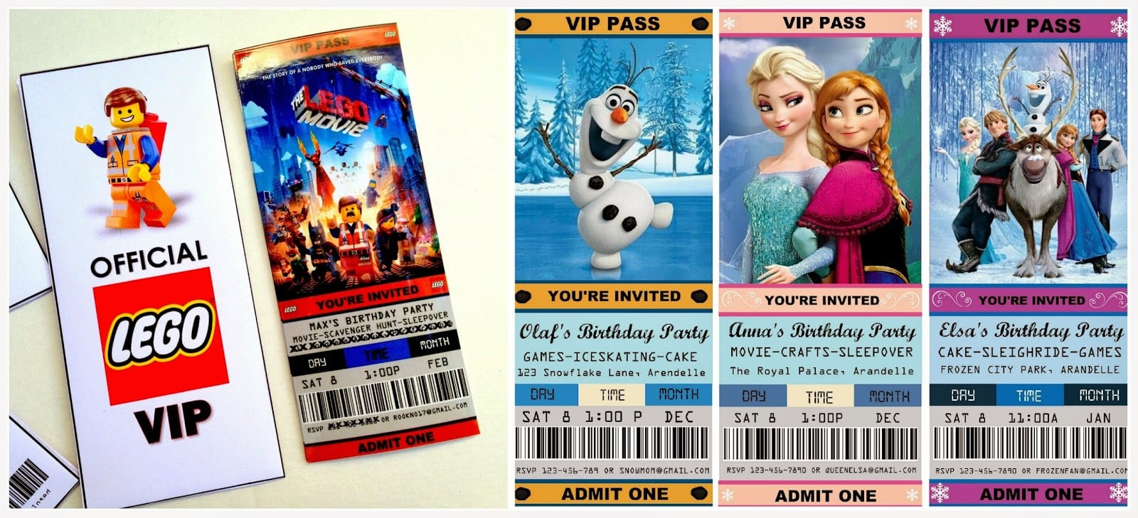 Download. Free Printable Movie Ticket Party Invitations