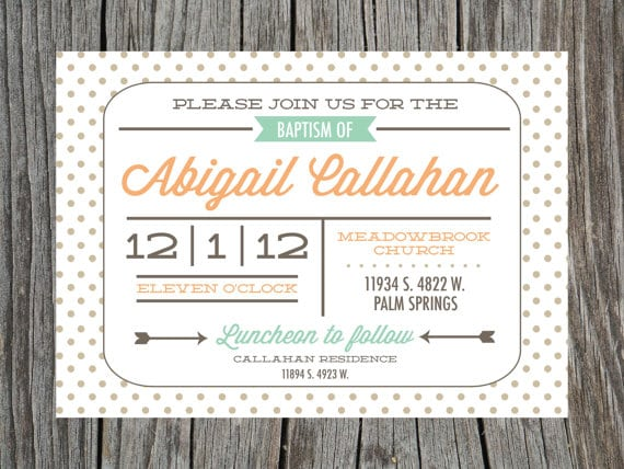 Free Printable Invitation For Christening
