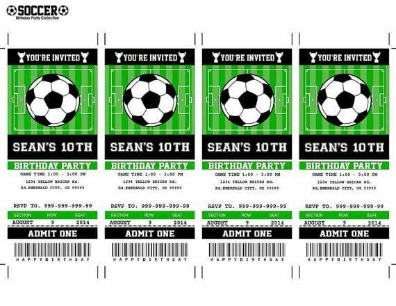Free Soccer Invitation