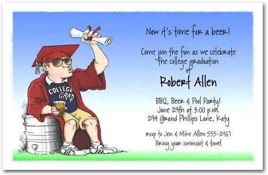 Funny Graduation Quotes For Invitations