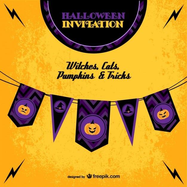 Halloween Invitation Template Free