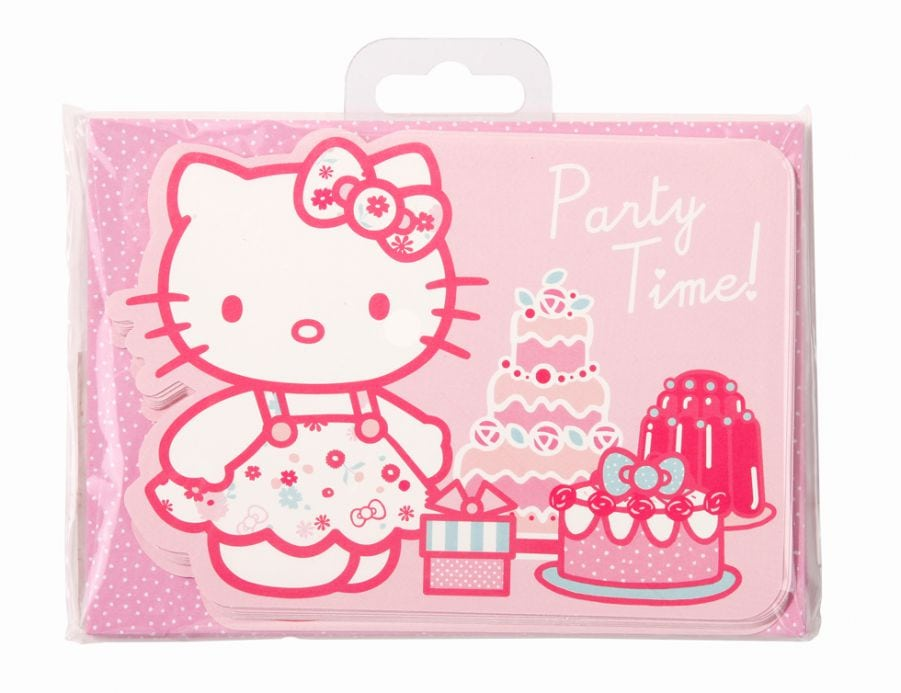 Hello Kitty Birthday Party Invitation Wording