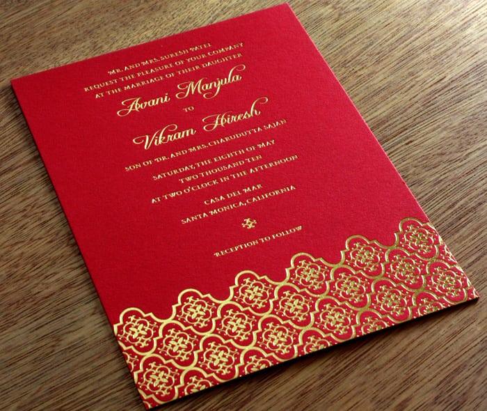 wedding invitation cards designs template