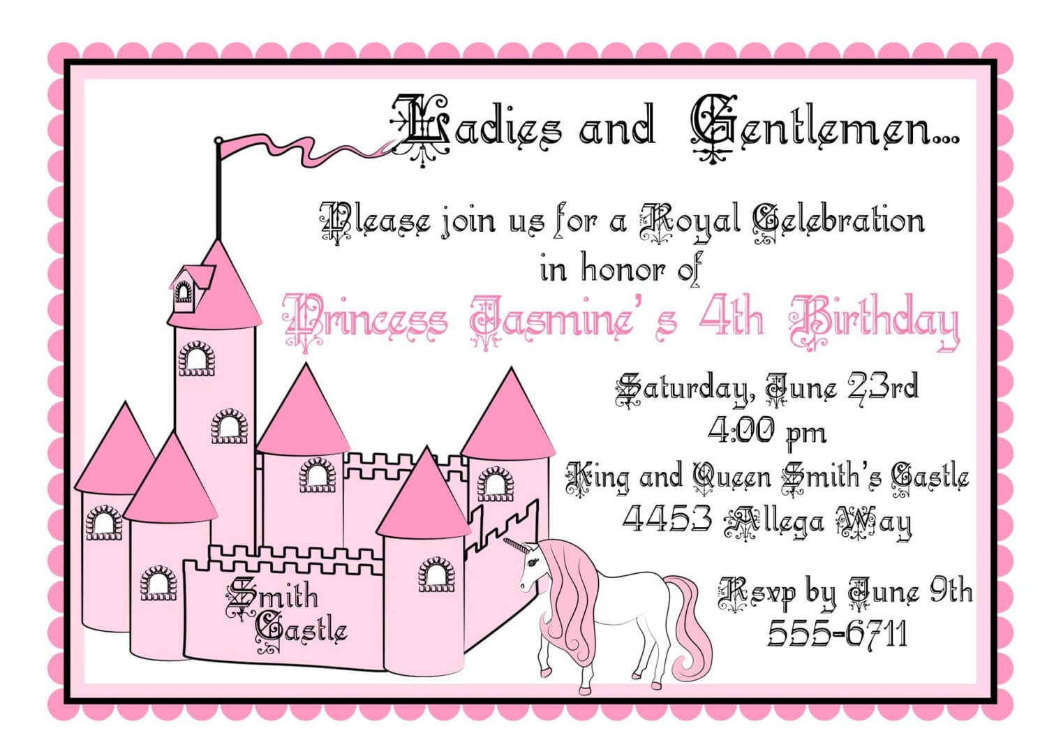 Images Of Invitation Cards For Birthday