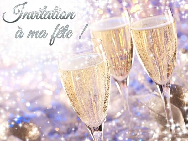 Invitation Gratuite Anniversaire