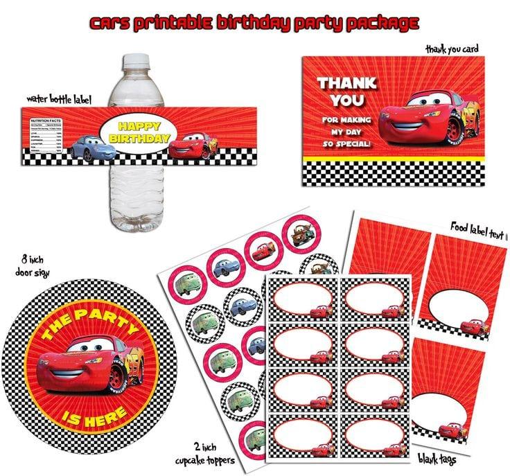 Car Birthday Party Invitation Free