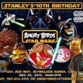 Printable Angry Birds Invitation