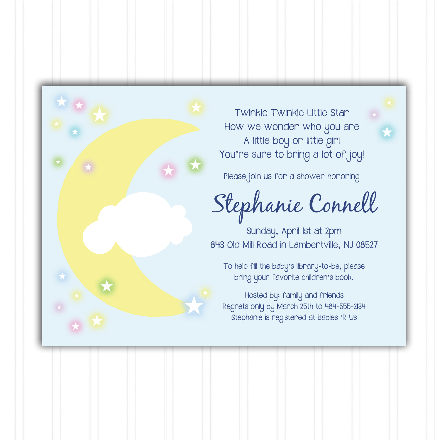 Printable Baby Shower Invitations Staples