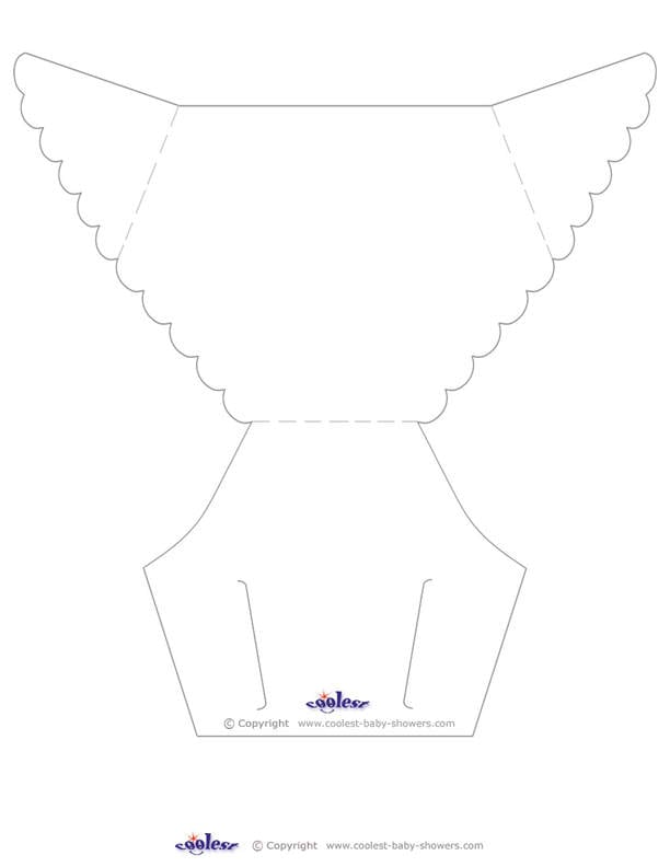 Template For Baby Invitation