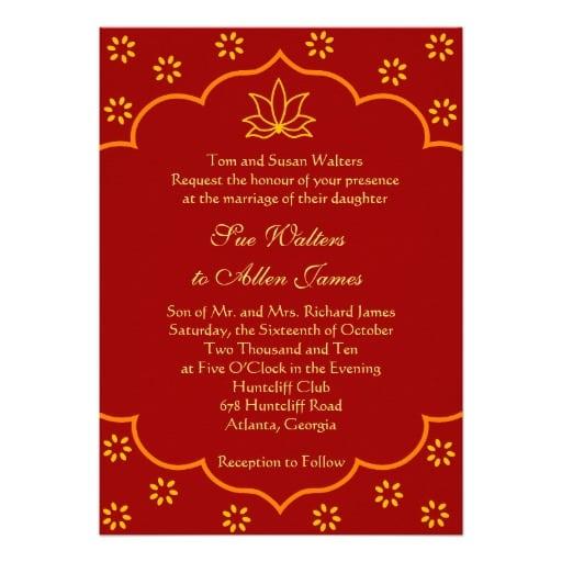 Wedding Invitation Cards Samples India