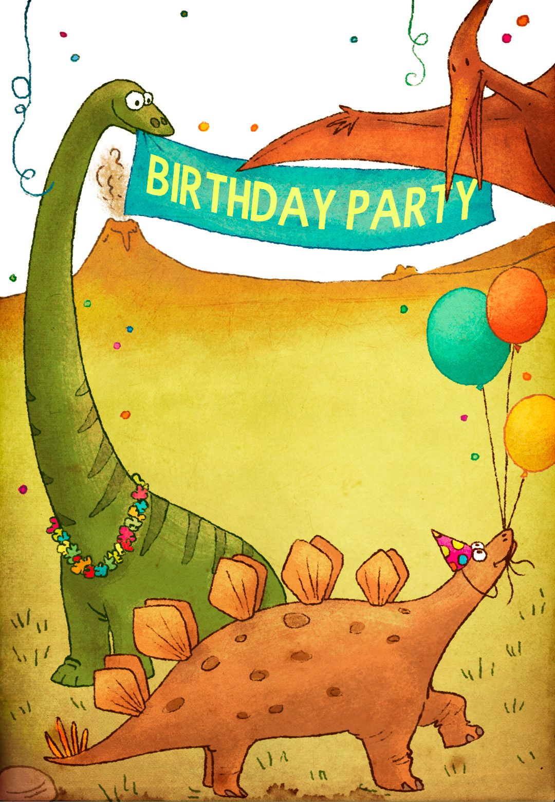 Dinosaurs Birthday Party