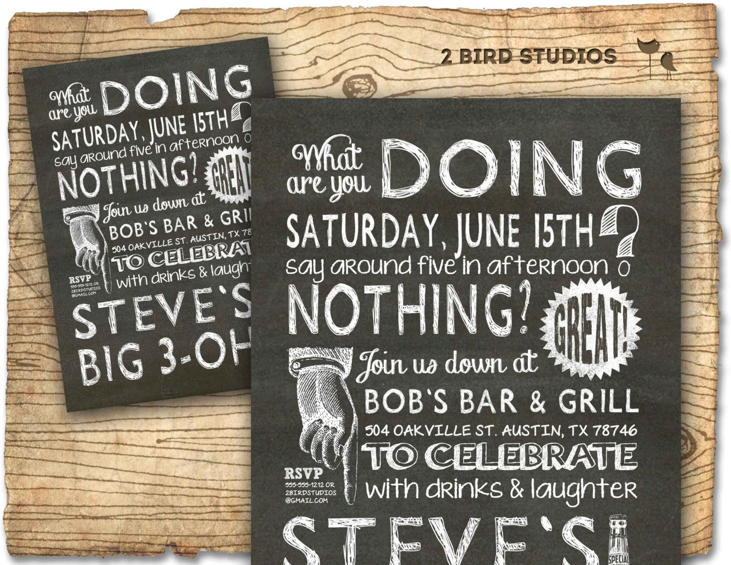 30th Birthday Invitations Templates Free Printable — Birthday