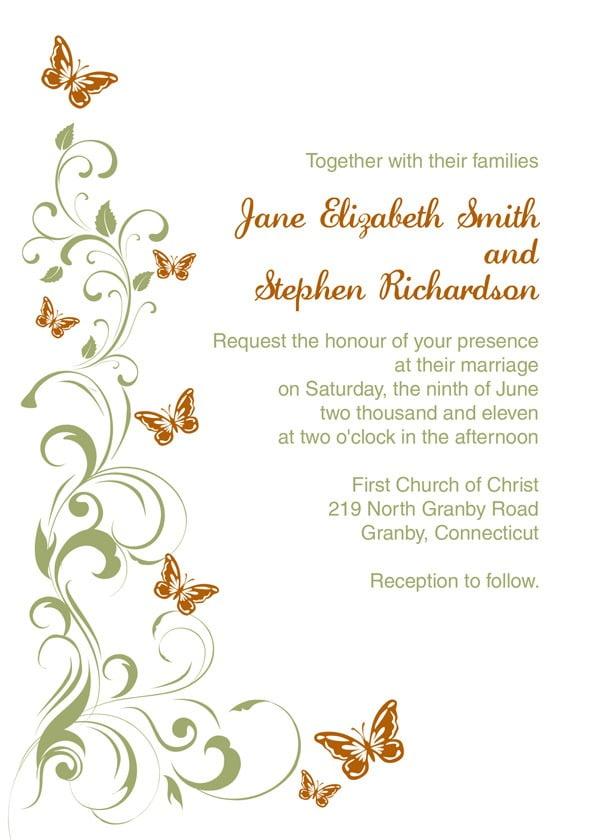 Blank Wedding Invitation Kits Blank Wedding Invitation Kits