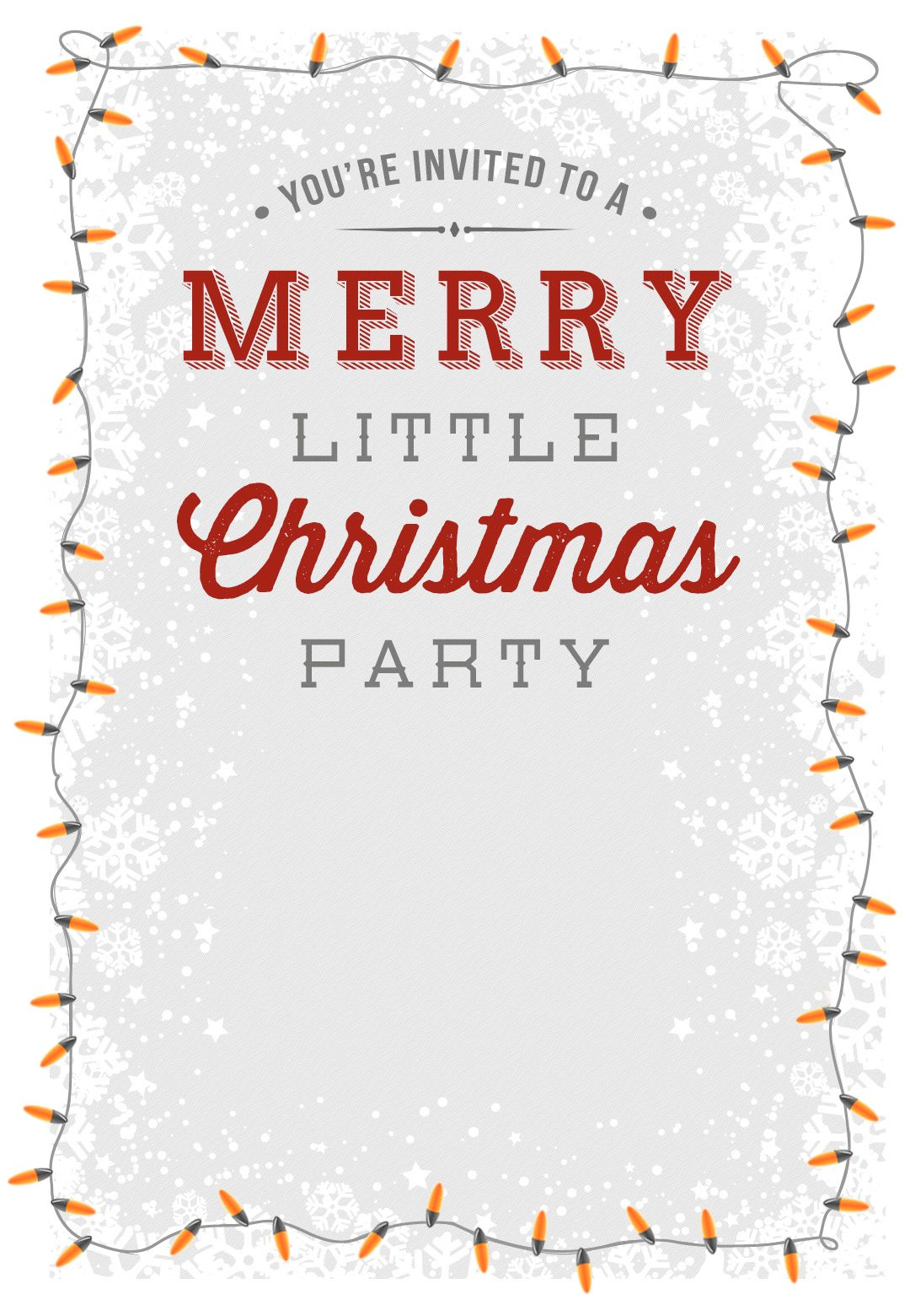A Merry Little Party