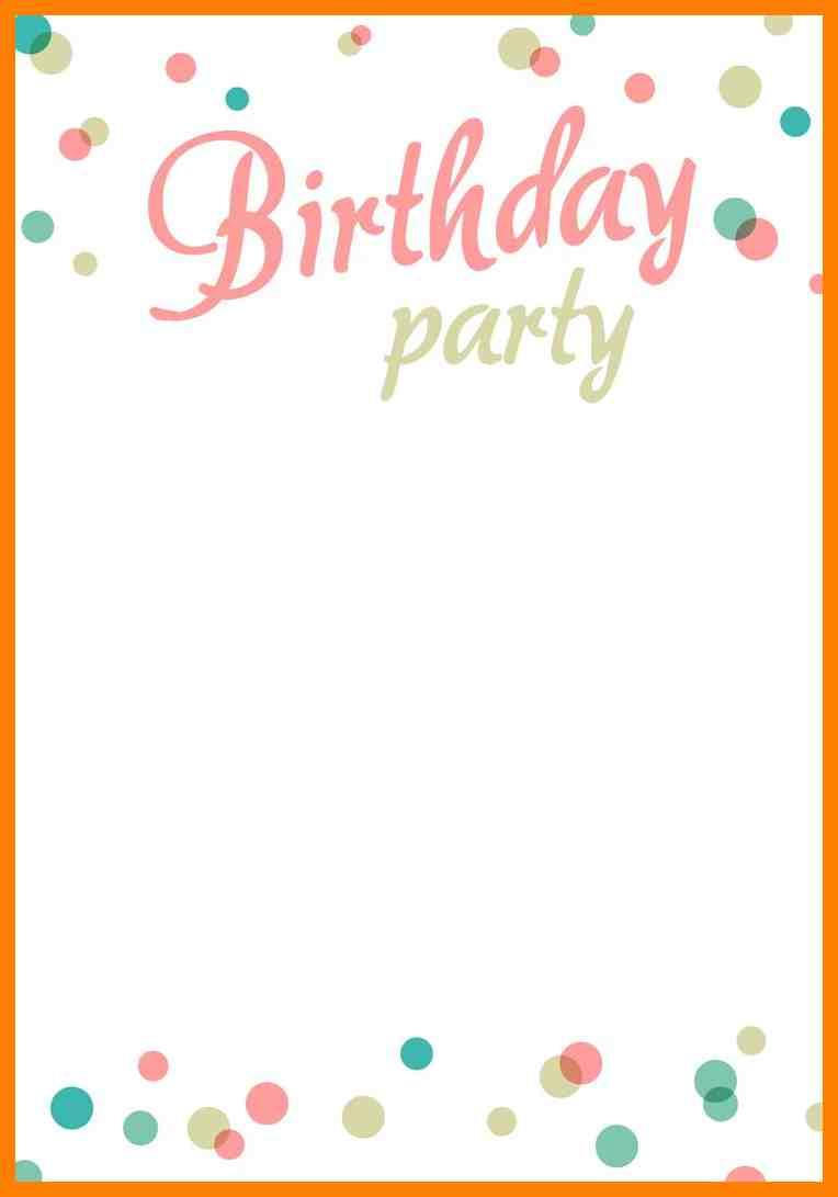 Elegant Birthday Party Invitation Templates 67 For Invitation