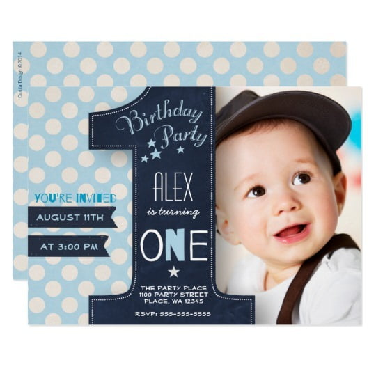 Birthday Boy Invitation