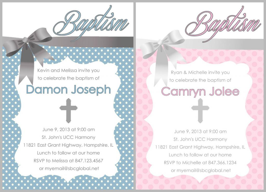 Free Christening Invitation Template Download Baptism Invitation