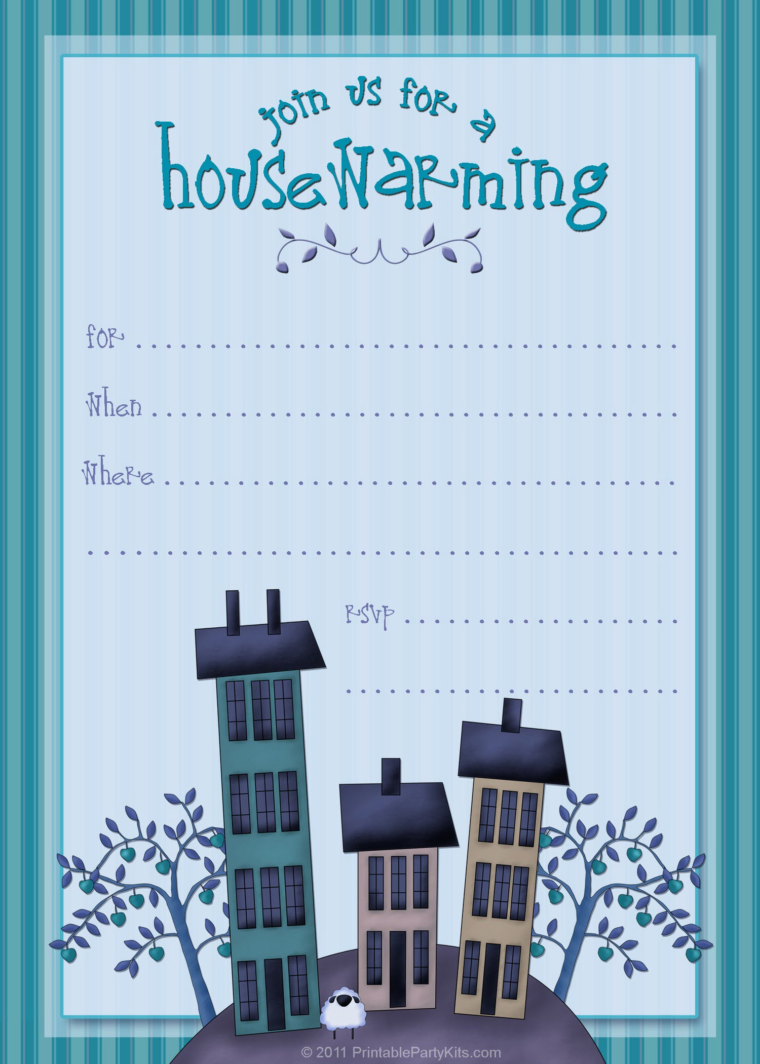 Free Housewarming Invitations To Inspire You On How To Make Your