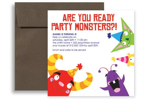 Free Printable Kids Birthday Party Invitations Templates In