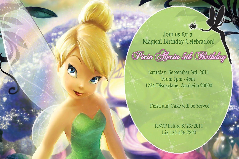 Tinkerbell Printable Invitations – Omg Invitation