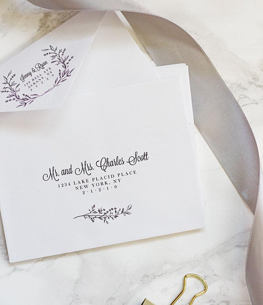 Easy Printable Envelope Template