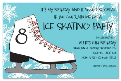 Ice Skating Party Htm Nice Ice Skating Party Invitations Free