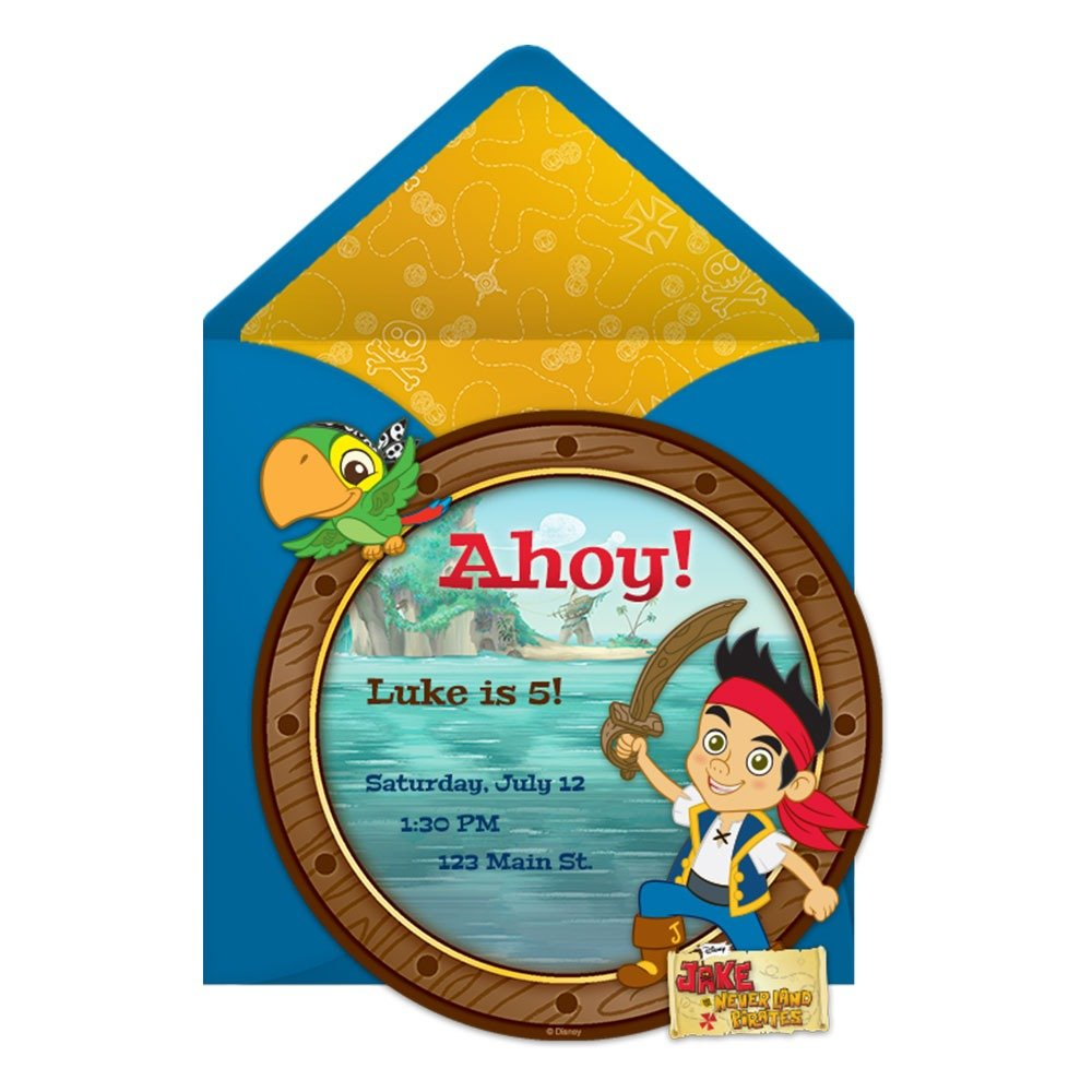 Jake And The Never Land Pirates Party Online Invitation