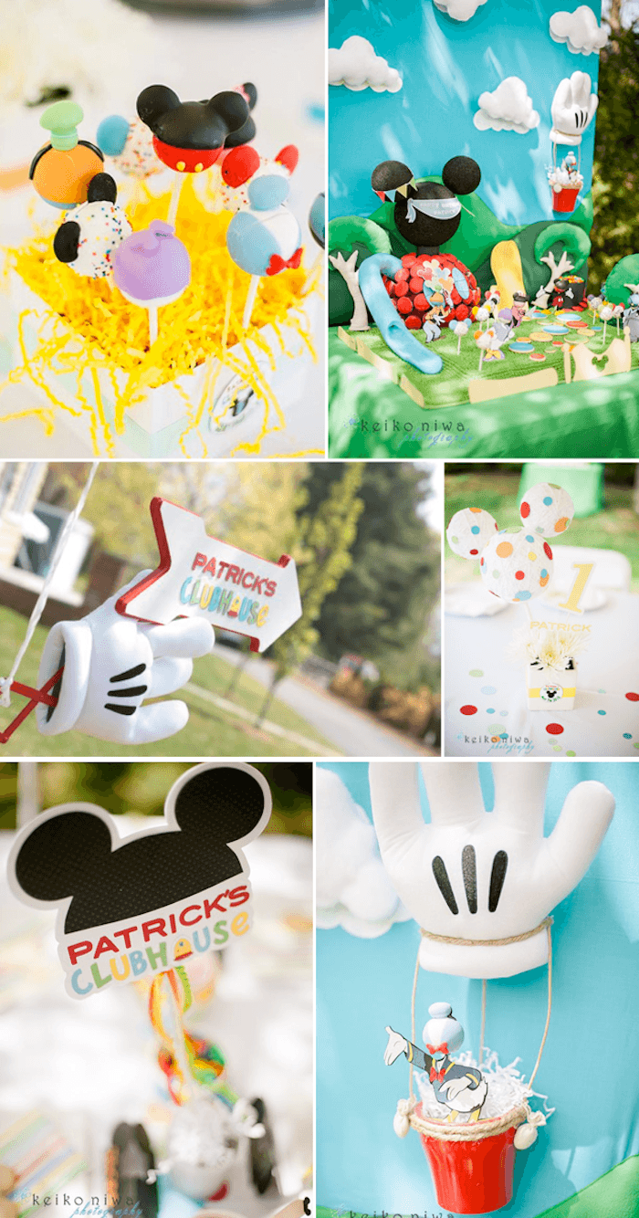 Kara's Party Ideas Mickey Mouse Clubhouse 1st Birthday Party