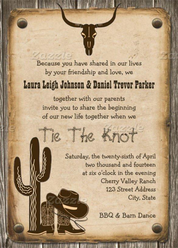 Western Invites