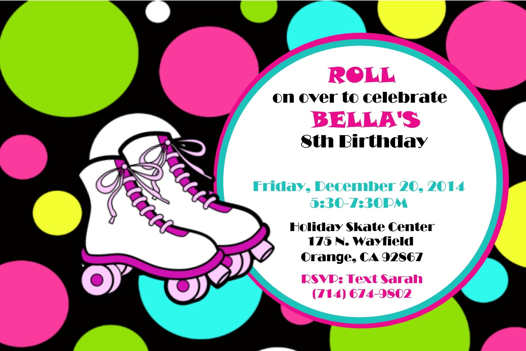 Skate Party Invitations Skate Party Invitations Also Have Alluring