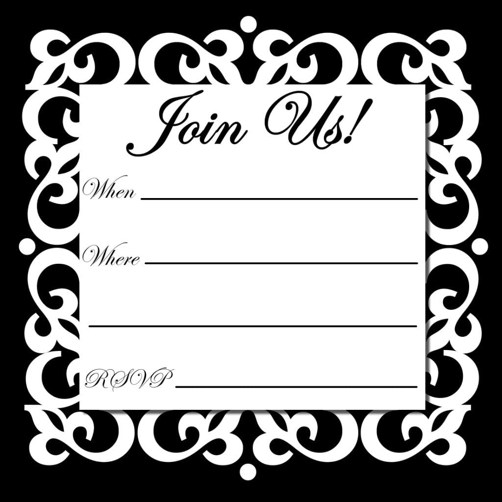 Free Online Printable Party Invitations