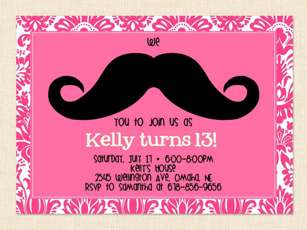 13th Birthday Party Invitations Printable – Happy Holidays!